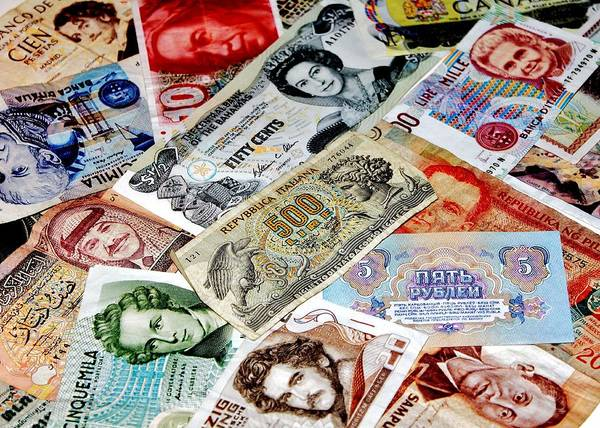Legal Tender Photograph - Currencies by Benjamin Yeager