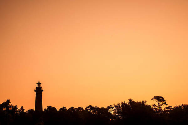 Photograph - Currituck Lighthouse At Sunrise by Don Johnson