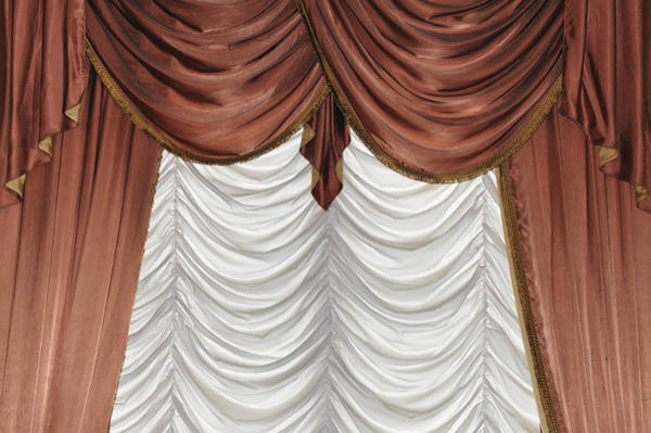 Photograph - Curtain by Matthias Hauser