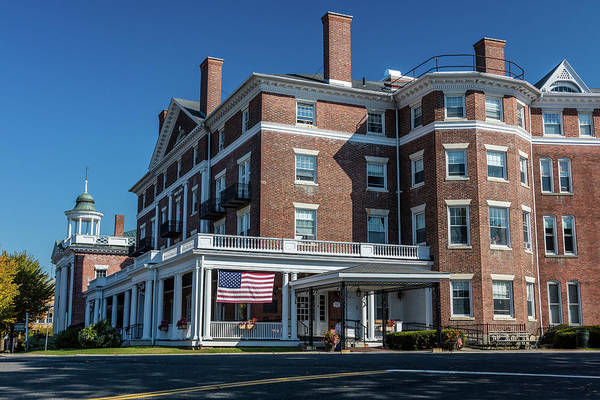 Balcony Photograph - Curtis Hotel, Lenox, Mass. - New by Panoramic Images