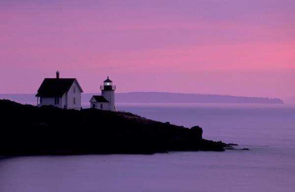Photograph - Curtis Island Headlight 02 by Jim Dollar