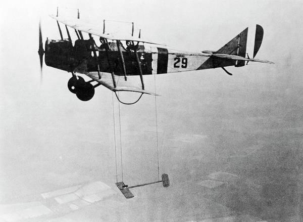 1921 Photograph - Curtiss Jn-4h Research Aircraft by Nasa