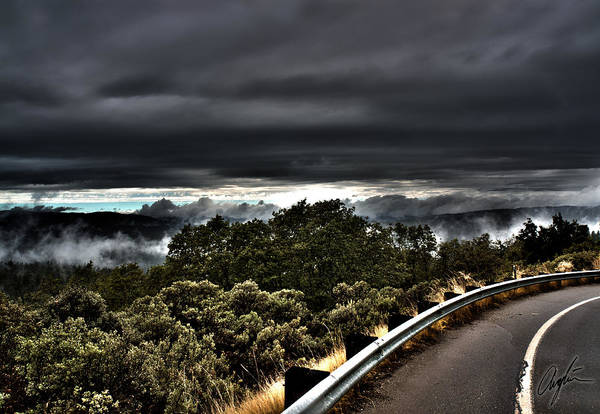 Anglin Wall Art - Photograph - Curve On The Road To Heaven  by Nathan Anglin