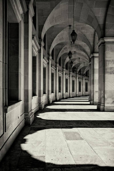 Wall Art - Photograph - Curved Corridor by Louise Wolbers