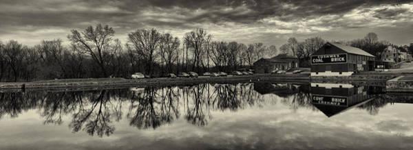 Chesapeake And Ohio Wall Art - Photograph - Cushwa Basin C And O Canal Black And White by Joshua House