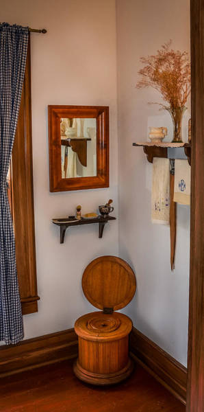 Water Closet Photograph - Custer's Crapper by Paul Freidlund