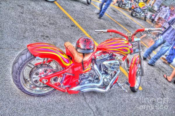 Photograph - Custom Bike by Jim Lepard