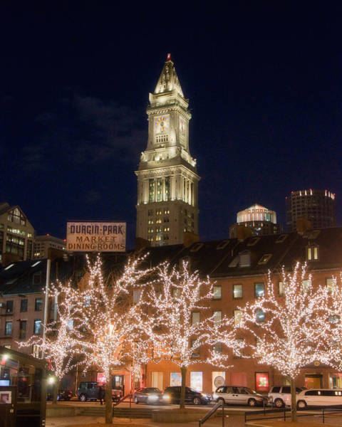 Photograph - Custom House Boston by Joann Vitali