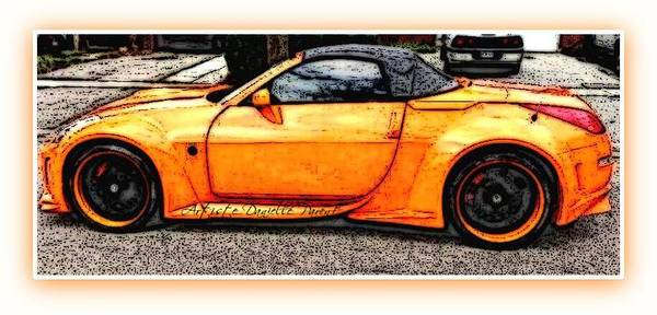 Photograph - Custom Sports Car 2 by Danielle  Parent