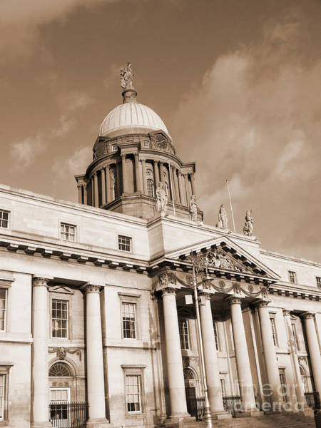 Photograph - Customs House On Dublin Quay by Brenda Kean