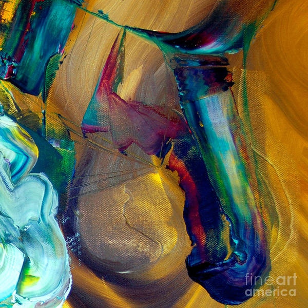 Painting - Cut II - Pegasus by James Lavott