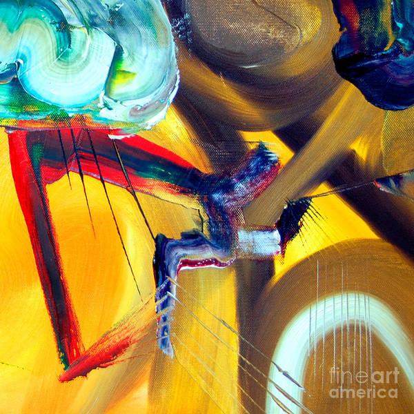 Painting - Cut IIi - Pegasus by James Lavott