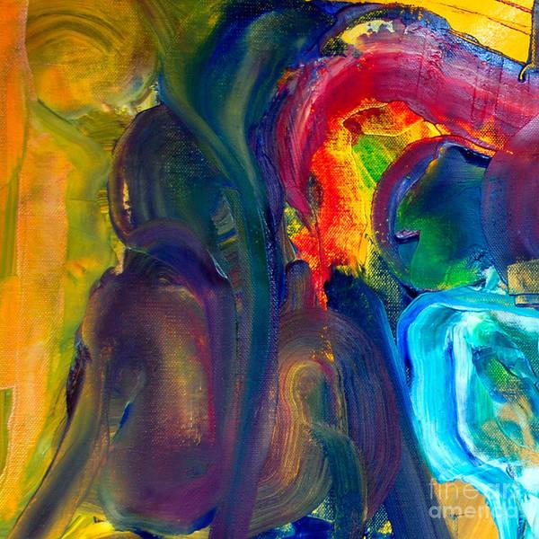 Painting - Cut Iv - Pegasus by James Lavott