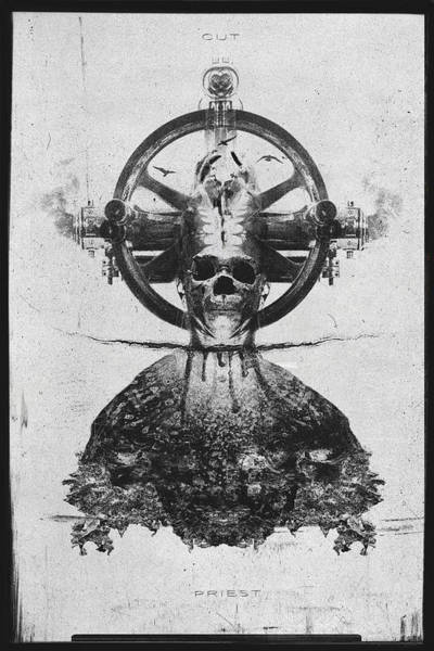Wall Art - Photograph - Cut Priest by Victor Slepushkin