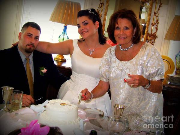 Wedding Cake Photograph - Cut The Cake by Reid Callaway