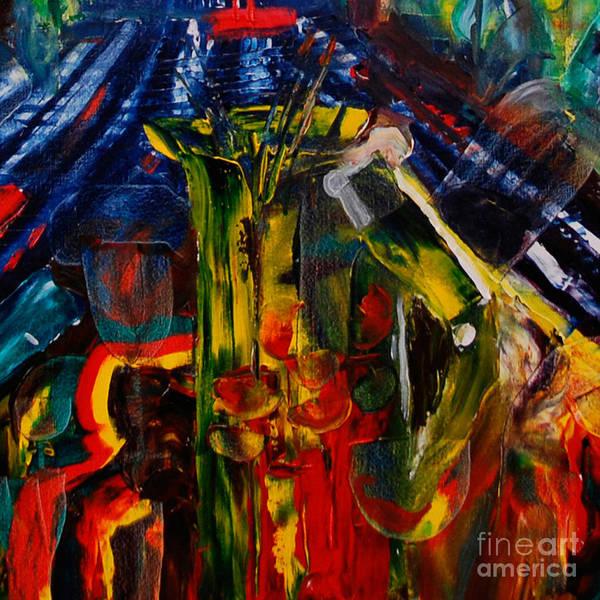 Painting - Cut - The Sangria Jug by James Lavott