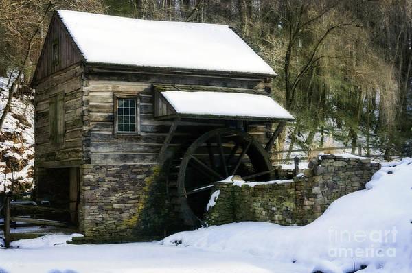 Photograph - Cuttalossa Farm In Winter by Debra Fedchin