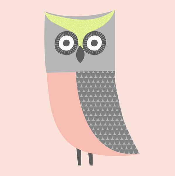Wall Art - Photograph - Cute Illustration Of Pink, Gray by Ikon Ikon Images