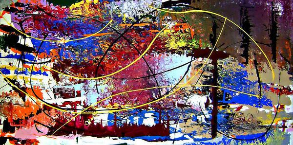 Painting - Cy Talyc Pronounced Sigh-talick by Cyryn Fyrcyd