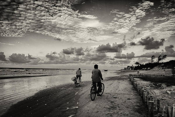 Photograph - Cycling  by Arkamitra Roy