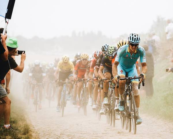 Wall Art - Photograph - Cycling In The Dust by Carlo Beretta