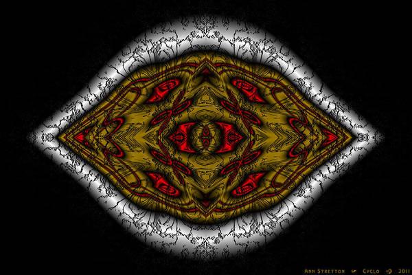 Digital Art - Cyclo by Ann Stretton