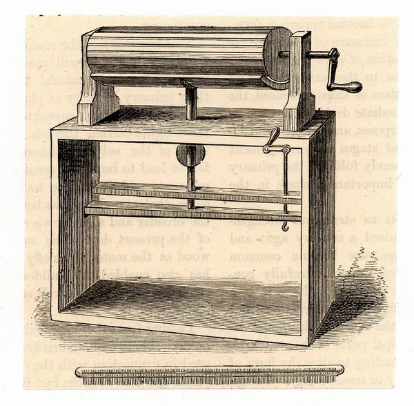 Inventor Photograph - Cylinder Wool Carding Machine by Universal History Archive/uig