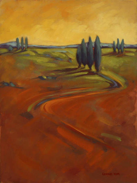 Painting - Cypress Hills 3 by Konnie Kim