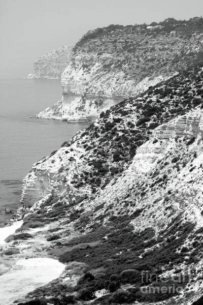 Photograph - Cyprus View - Black And White by John Rizzuto