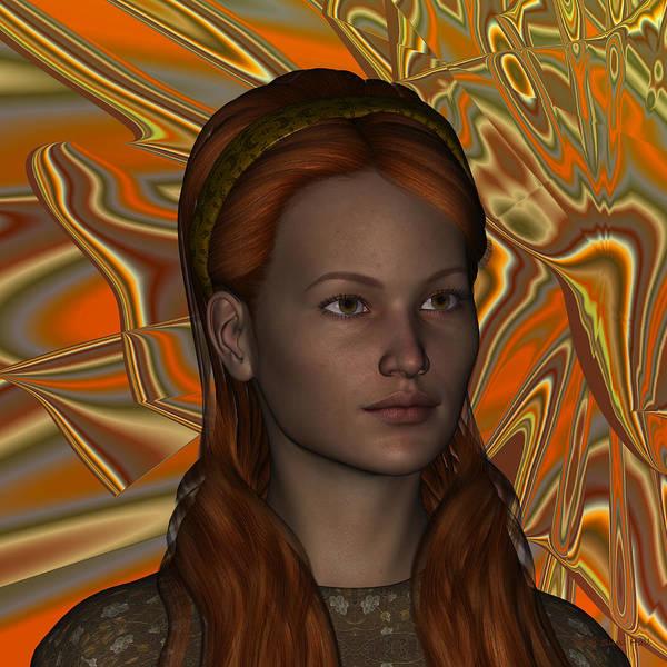 Digital Art - Cyrlinna by Judi Suni Hall