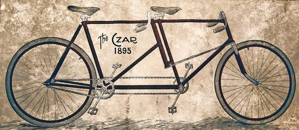 Painting - Czar Biycle by Celestial Images