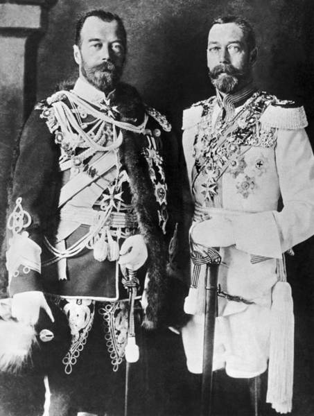 Appearance Photograph - Czar Nicholas And King George V by Underwood Archives