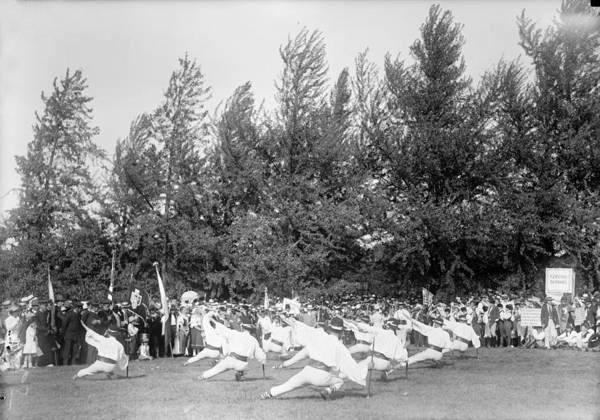 Czechoslovakian Photograph - Czechoslovakian Dance, 1918 by Granger