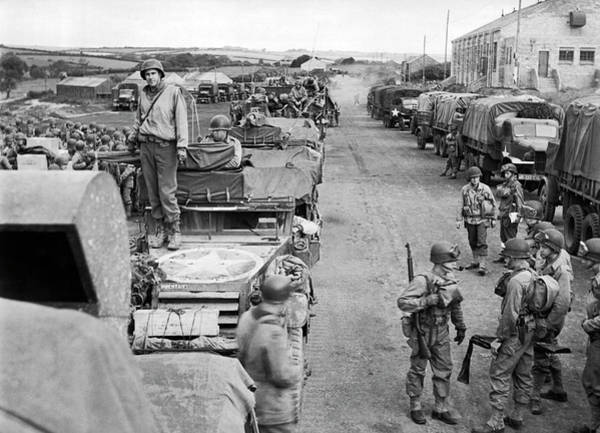 Photograph - D-day Preparation by Underwood Archives