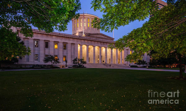 Photograph - D13l94 Ohio Statehouse Photo by Ohio Stock Photography