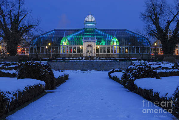 Photograph - D5l-280 Franklin Park Conservatory by Ohio Stock Photography