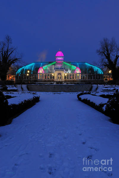 D5l287 Franklin Park Conservatory Photo Art Print