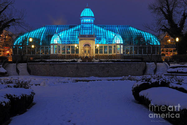 D5l-291 Franklin Park Conservatory Photo Art Print