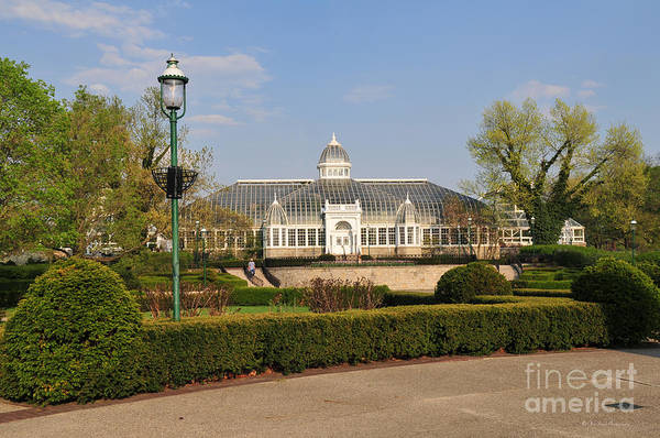Photograph - D5l311 Franklin Park Conservatory by Ohio Stock Photography
