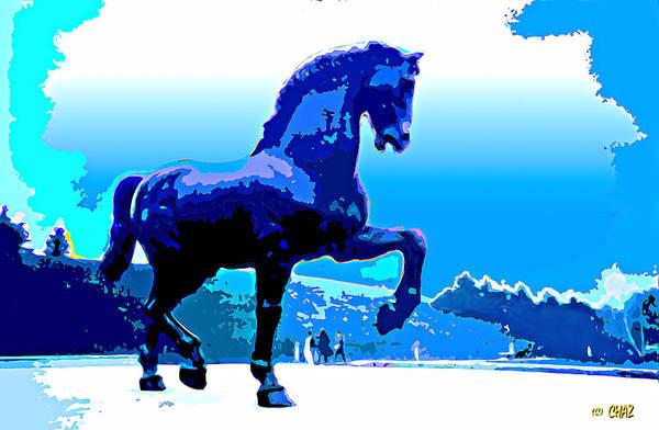 Meijer Painting - da Vinci's Horse by CHAZ Daugherty