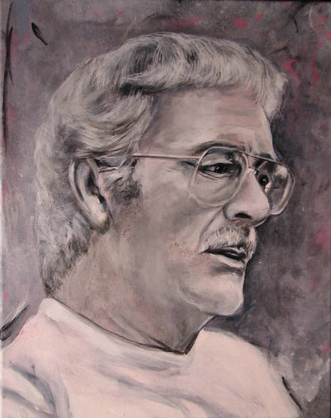 Painting - Dad  Jwdee   Rip 1927 2013 by Eric Dee