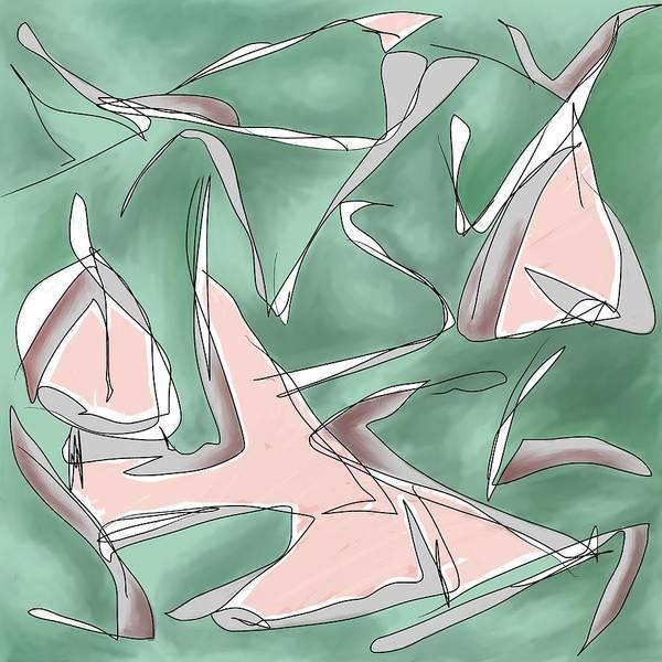 Digital Art - Daddy's Little Gull by Laureen Murtha Menzl