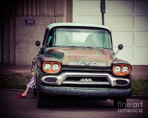 Wall Art - Photograph - Daddy's Truck by Perry Webster