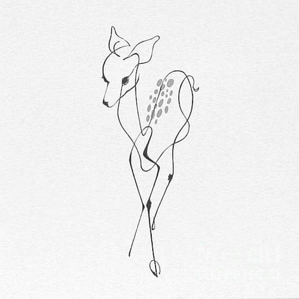 Photograph - Dad's Deer #1 By George Wood by Karen Adams