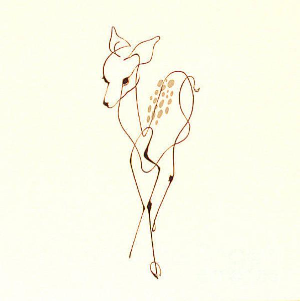 Photograph - Dad's Deer By George Wood by Karen Adams