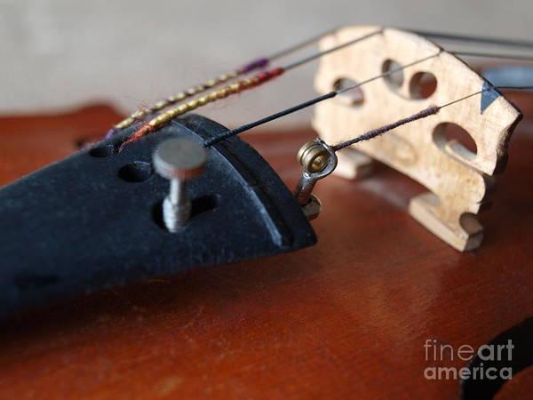 Photograph - Dad's Violin - 13 by Vivian Martin