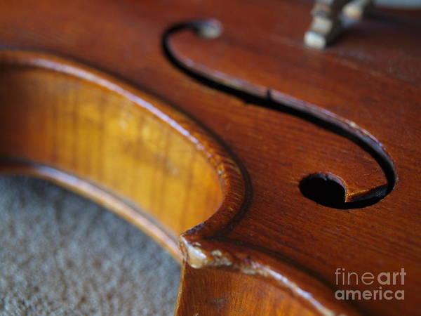 Photograph - Dad's Violin - 18 by Vivian Martin