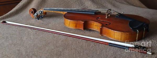 Photograph - Dad's Violin - 20 by Vivian Martin