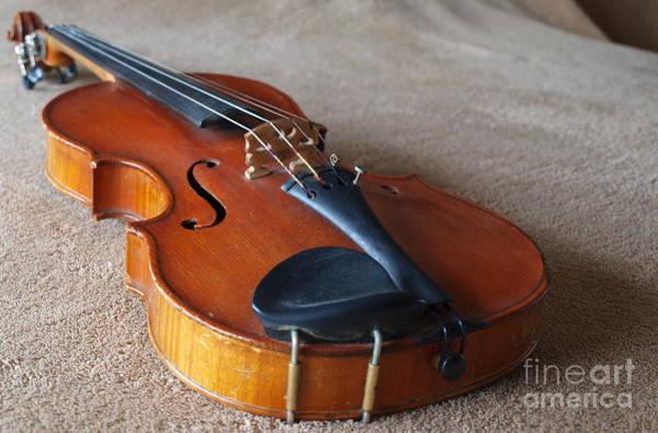 Photograph - Dad's Violin - 22 by Vivian Martin