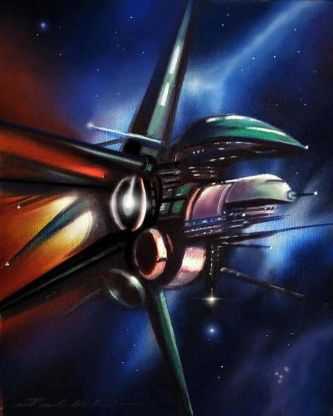 Painting - Daedalus Destroyer by James Christopher Hill